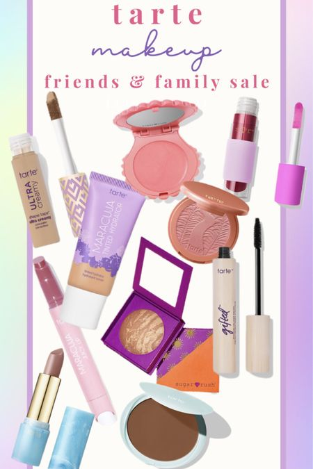 35% off the best makeup! 💜 As I was making this collage, I realized that all of my favorites are mostly by Tarte! 🌊 Their friends and family sale only happens a couple times a year, so take advantage on stocking up on your favs now! 💄 http://liketk.it/3bfhP #liketkit @liketoknow.it #LTKbeauty #LTKsalealert #LTKSpringSale Shop your screenshot of this pic with the LIKEtoKNOW.it shopping app