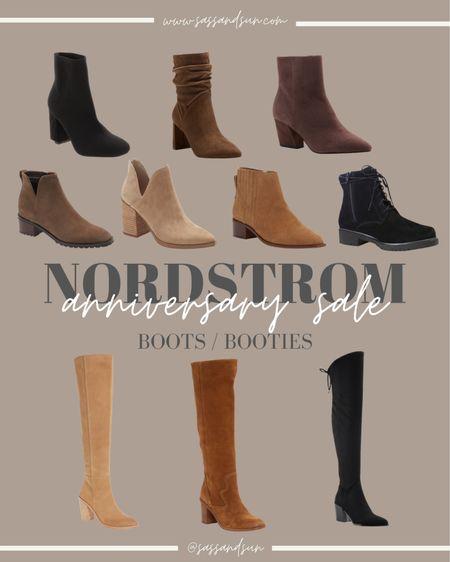 Nordstrom Anniversary Sale Boots and Booties  #LTKsalealert #LTKshoecrush #LTKunder50