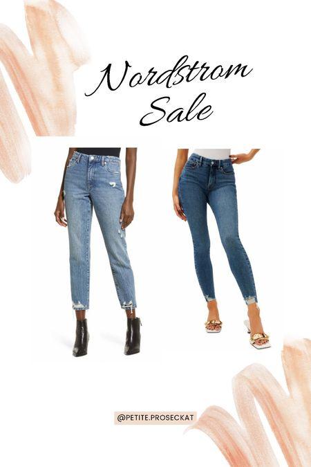 Denim staples! Good American jeans are size inclusive and a great find during the nsale!   #LTKunder100 #LTKstyletip #LTKsalealert