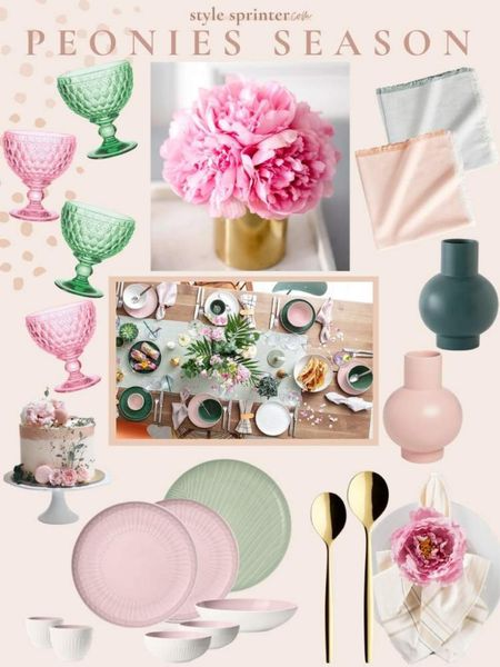 Spring home decor items I used to create this spring tablescape by Villeroy & Boch 🌸 http://liketk.it/3djdF #liketkit @liketoknow.it #LTKhome @liketoknow.it.home #villeroybochusa gifted