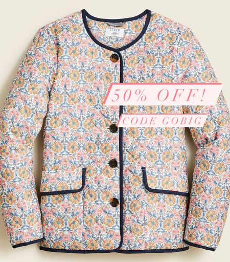 Quilted jacket 50% off!