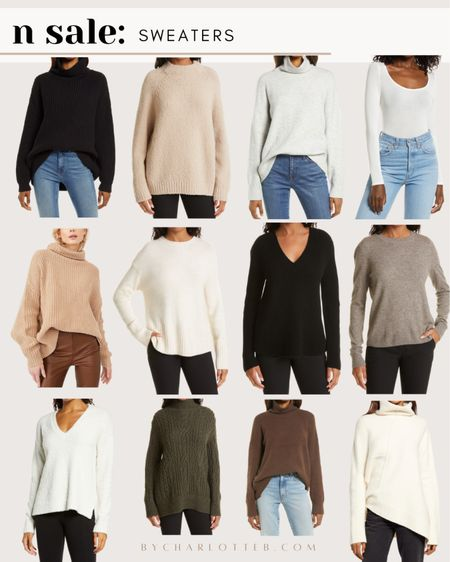 Great sweaters for fall/winter that are included in the Nordstrom anniversary sale! #nsale   #LTKunder100 #LTKsalealert #LTKstyletip