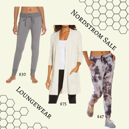 Loungewear from the NSale at Nordstrom! Joggers and barefoot dreams sale  #LTKhome #LTKsalealert #LTKunder50