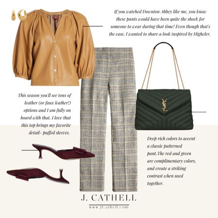 Anyone else fans of Downton Abbey? I was looking for an inspo picture for today and knew I had to share this one. I won't even attempt a home inspired look this morning but I am sharing two outfits that are inspired directly by Highcler.     #LTKitbag #LTKstyletip #LTKshoecrush