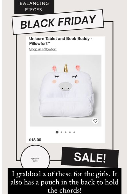 These Unicorn tablet holders are perfect for at home or on the go! I grabbed 2. Also has a pouch to hold the chords. http://liketk.it/32mCR #liketkit @liketoknow.it #LTKgiftspo #LTKunder50 #LTKkids @liketoknow.it.home #blackfriday #blackfridaysale