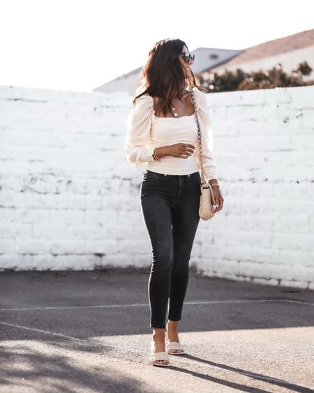 Date night style, date night inspired look, blouse, jeans, StylinByAylin   #LTKSeasonal #LTKstyletip #LTKunder100