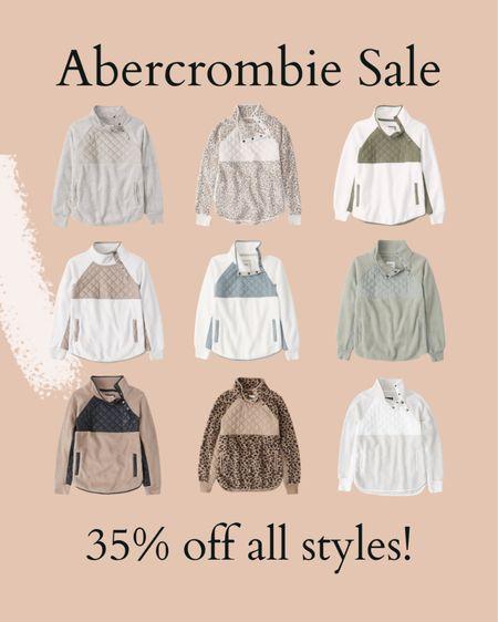 Abercrombie sherpas are on sale   #LTKsalealert #LTKunder50 #LTKSeasonal