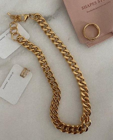 gold jewelry #jewelry  #LTKunder100