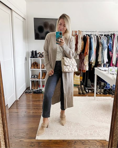 Currently loving: piled on neutrals 🥰  Linking everything here including these shoes in both regular and wide width 👊🏻   #LTKSeasonal #LTKshoecrush