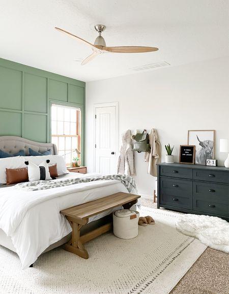 Scandi modern style. Neutral bedroom inspo.   #LTKhome