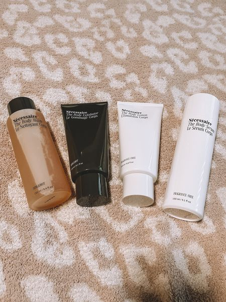 Necessaire Bodycare are my favorites right now, love the body wash, Exfoliator, and body lotion   #LTKbeauty