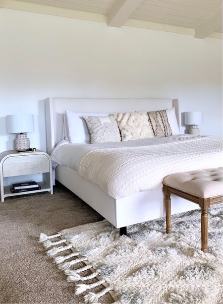 Such a fan of our bed /// so clean and minimalist. Really can work with any style aesthetic     #LTKhome