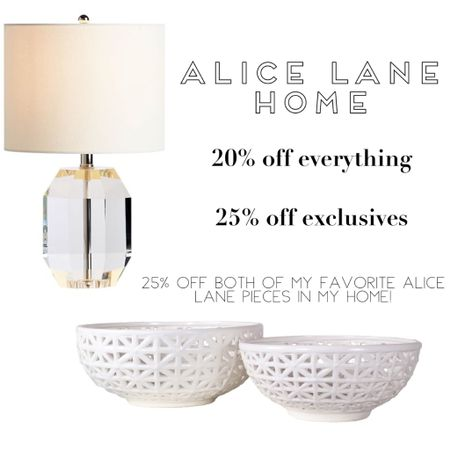 Alice Lane home, crystal lamp, table lamp, small lamp, neutral lamp, white bowls, porcelain bowls, lattice bowls, shelf decor, home decor, home accents, home accessories , high-end home, luxury home, kitchen lamp, island Decor, bookshelf Decor,  http://liketk.it/32Ipf #liketkit @liketoknow.it #LTKsalealert #LTKhome #LTKgiftspo