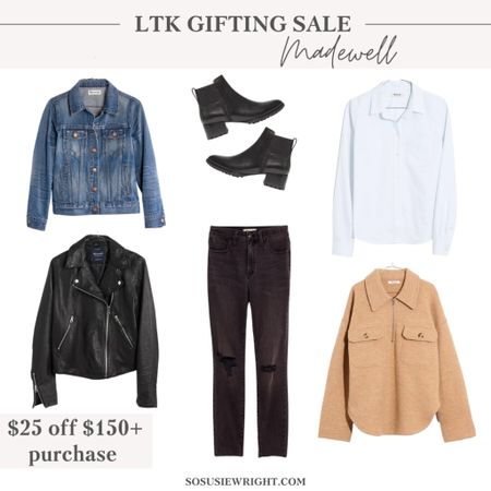 Great fall finds from Madewell on sale today!   #LTKSale #LTKstyletip #LTKsalealert