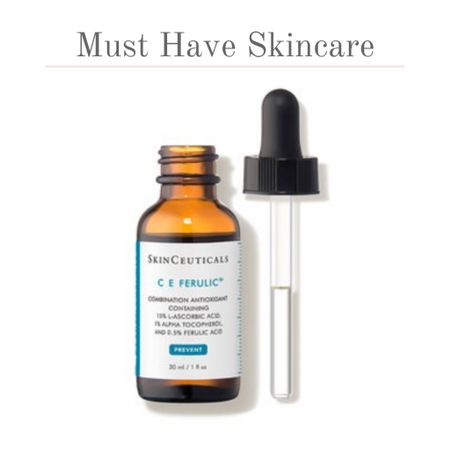 This vitamin C skincare serum is a must have product! The C E Ferulic from SkinCeuticals is a fan favorite. A vitamin C serum that helps protect your skin, lightens lines, firms skin, and brightens your complexion. Love the skin your in and add C E Ferulic yo your skincare routine.   #kimbentley #facial   #LTKbeauty
