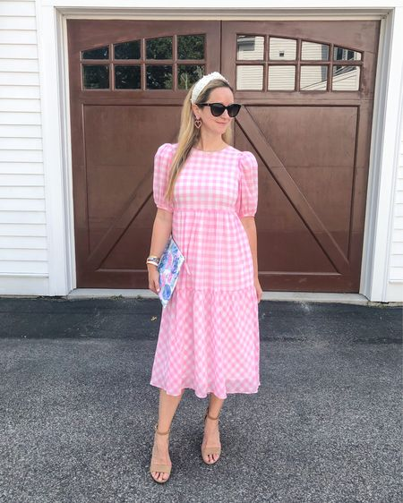 On Wednesdays we wear pink … dresses! A few sizes left in this lovely one, available in orange as well. 💕🧡 Linked for you on @liketoknow.it . http://liketk.it/3haC8 #liketkit