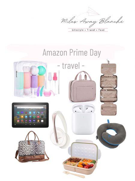 Amazon Prime - last day!! Travel accessories. Cute travel bag with shoe compartment, headphones, travel size bottles for shampoo, etc. http://liketk.it/3ibMH #liketkit @liketoknow.it #LTKsalealert #LTKtravel #LTKunder100