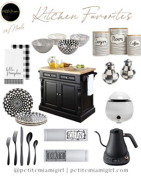 #kitchendecor #homerestyling #blackandwhitelook   #LTKhome