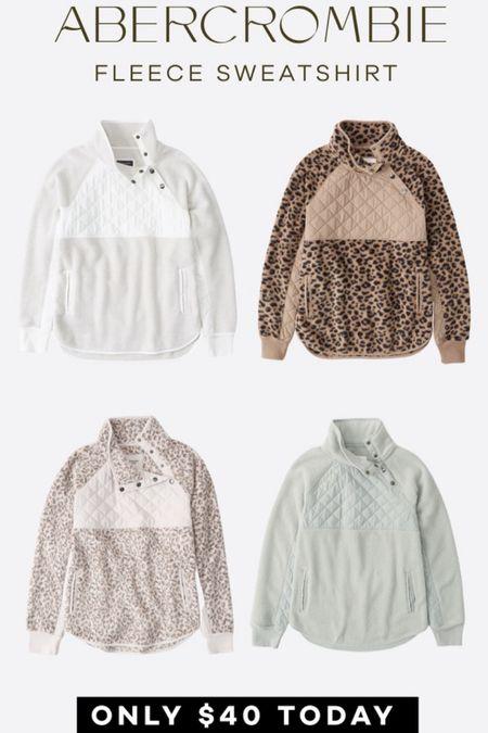 Abercrombie Sweatshirts on sale   #LTKsalealert