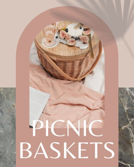 Cute picnic basket ideas 🧺 http://liketk.it/3d9xg #liketkit @liketoknow.it #LTKhome #LTKunder100