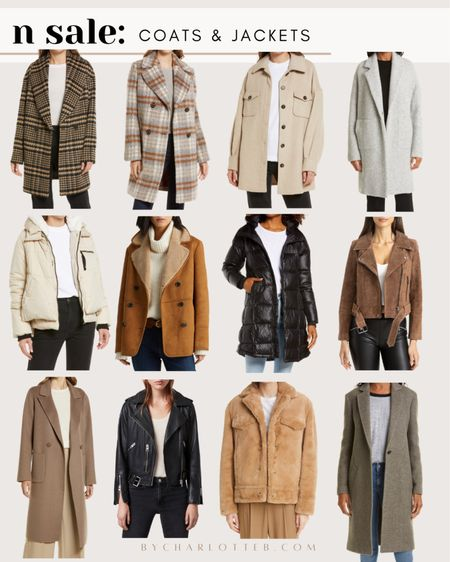 My coats and jackets picks From the Nordstrom anniversary sale! Great coats and jackets for fall and winter are on sale #nsale   #LTKsalealert #LTKstyletip