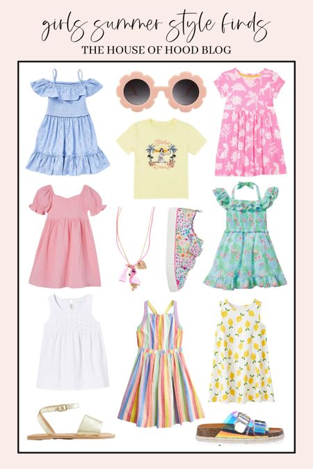 Summer outfit ideas for girls! ☀️☀️☀️   http://liketk.it/3eMdG #liketkit @liketoknow.it #LTKkids #LTKunder50 #LTKfamily @liketoknow.it.family #summerstyle #summeroutfits #girlsstyle   You can instantly shop all of my looks by following me on the LIKEtoKNOW.it shopping app