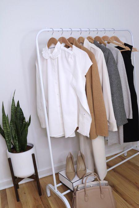Fall capsule work wardrobe workwear   #LTKunder100 #LTKstyletip #LTKworkwear