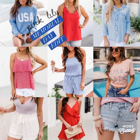 Get your red, white, and blue looks ready...Memorial Day is right around the corner!  @liketoknow.it #liketkit #LTKunder100 #LTKunder50 http://liketk.it/3fVAI