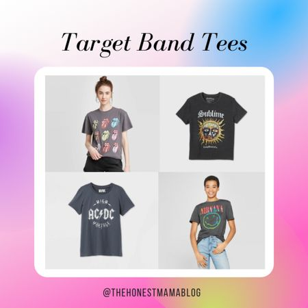 Target has the best and most affordable graphic band tees 😍 speaking directly to my 90s-kid heart! http://liketk.it/3aO90 #liketkit @liketoknow.it