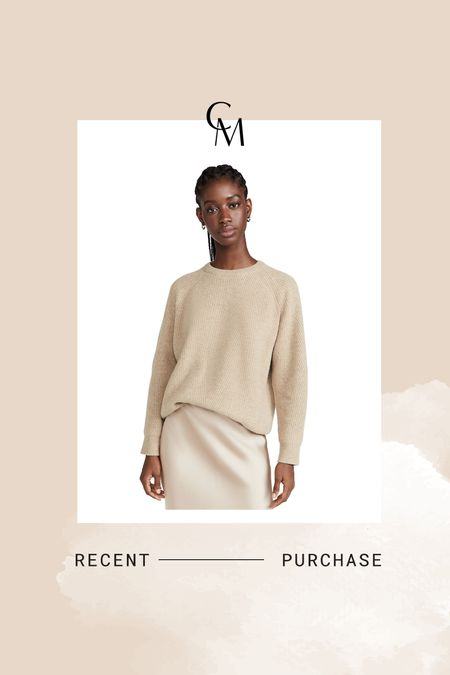 Demylee sweater. Ordered the xs