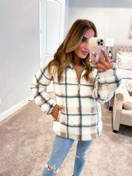 Super warm sherpa jacket size Xs   #LTKunder100 #LTKunder50 #LTKstyletip