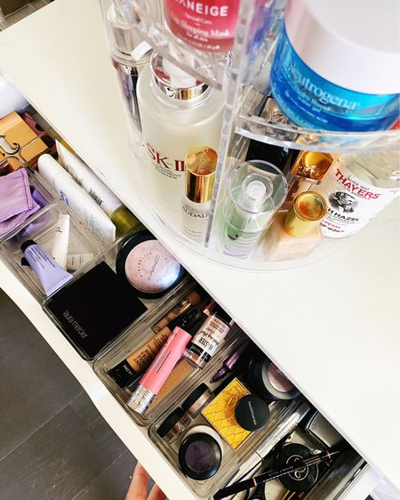 These trays and this rotating organizer have been game changers when it comes to keeping my makeup clean and organized. @liketoknow.it http://liketk.it/2QgPN #liketkit #LTKbeauty #LTKhome #LTKunder50