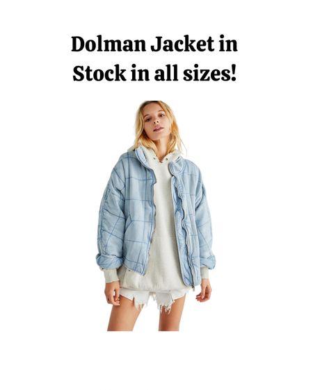 Fall fashion, fall outfits, fall jacket, denim jacket, free people, dolman jacket.   #LTKbacktoschool #LTKstyletip #LTKSeasonal