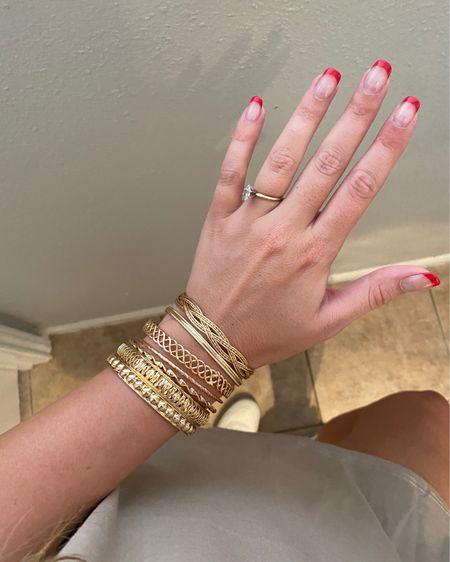 Cute Amazon bangles! $22.40   http://liketk.it/3htRQ #liketkit @liketoknow.it #LTKunder50 #LTKstyletip #LTKbeauty