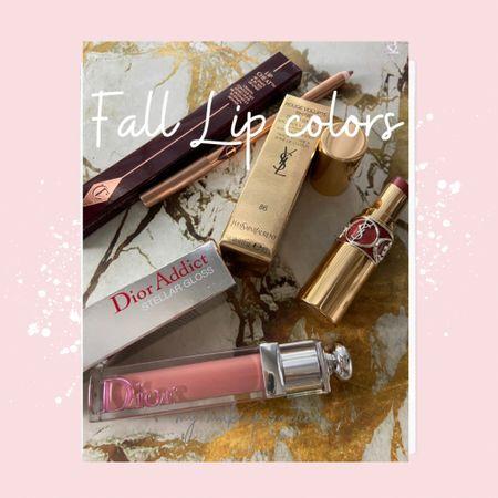 Fall lip colors you'll love❤️🍂🍁 .   #LTKunder50 #LTKstyletip #LTKbeauty