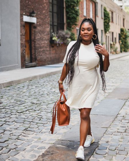 Keep it cute and casual in this H & M tee shirt dress and pair it with some comfy kicks 👟    #LTKunder50 #LTKcurves http://liketk.it/3jWRX #liketkit @liketoknow.it
