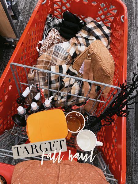 Target fall haul. Target plaid.  Target mug. Fall mug. Target finds  @targetstyle @target #targetfinds #targetfall #targethaul   #LTKSeasonal #LTKhome #LTKunder50