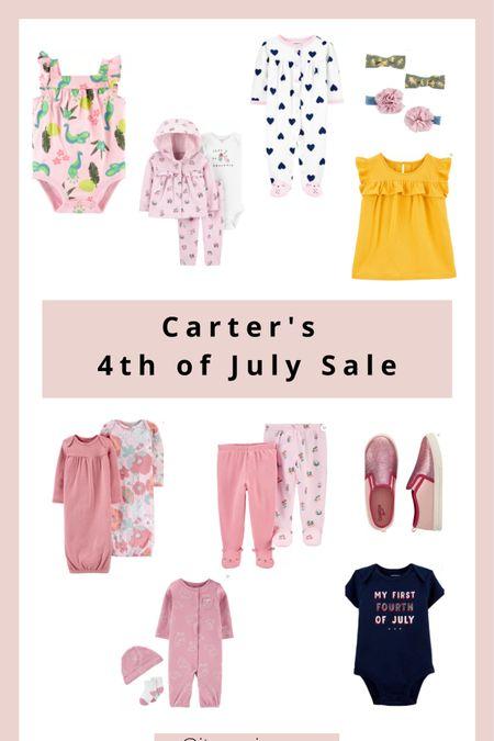 Carter's sale.❤️ http://liketk.it/3iVRE #liketkit @liketoknow.it #LTKunder50 #LTKsalealert #LTKbaby