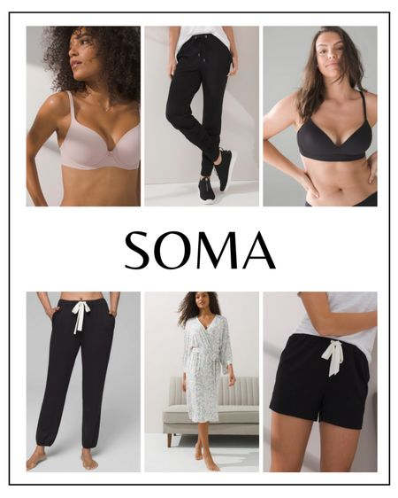 Get 25% off full price + markdowns at Soma through the 21st (excluding full price bras)   #LTKSale