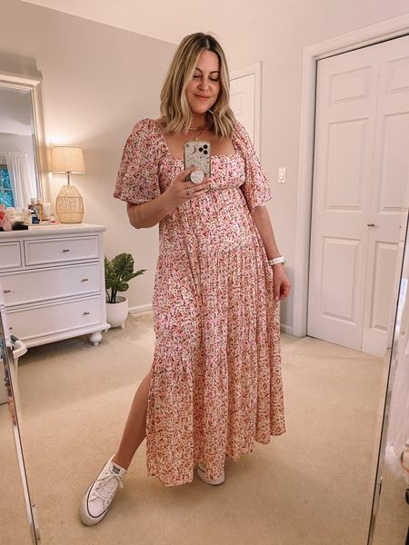 Newport dress find • M in top, size down 1/2 size in sneakers  Summer dress, wedding guest dress, summer outfit