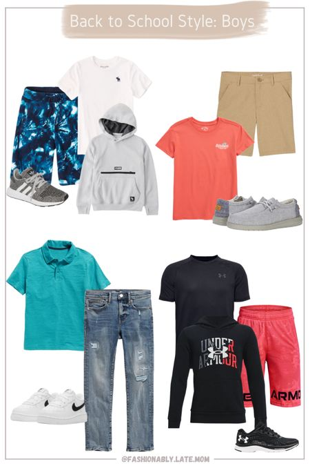 Back to school outfits for boys!  #LTKkids #LTKsalealert #LTKbacktoschool