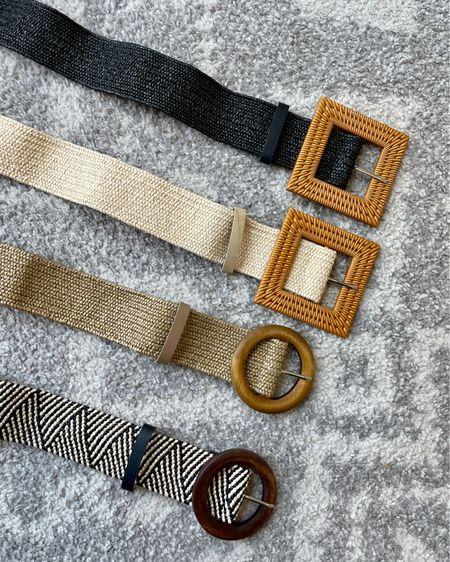 Four pack of trendy woven belts from Amazon http://liketk.it/3idy1 #liketkit @liketoknow.it #LTKunder50 #LTKstyletip