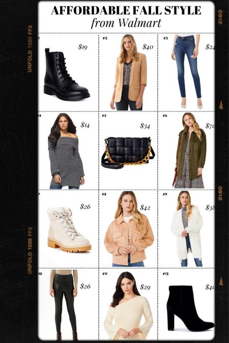 Fall style, fall outfits, Walmart style, Walmart fashion, fall outfit ideas, shackets, booties, sweaters, combat boots, skinny denim, cardigans, faux leather leggings    @walmart @walmartfashion #ad #walmartfashion  #LTKunder50 #LTKSeasonal #LTKstyletip
