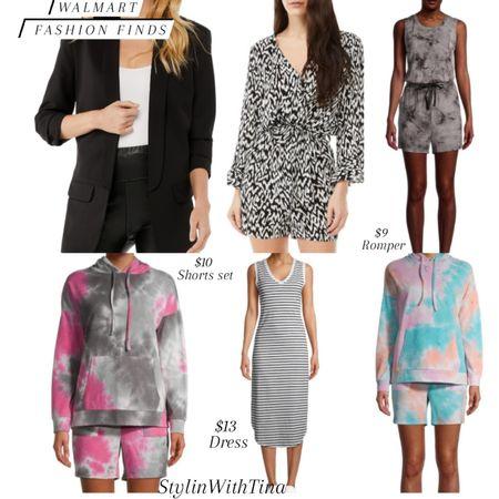 Walmart fashion finds, great deals Rompers, blazer, dress, short set http://liketk.it/3ibfa #LTKsalealert #LTKstyletip #LTKunder100 #LTKunder50 #LTKitbag #LTKshoecrush #LTKtravel #LTKworkwear #LTKwedding #LTKfit  #blazer#romper#dress#ltkwhitedress @liketoknow.it #liketkit