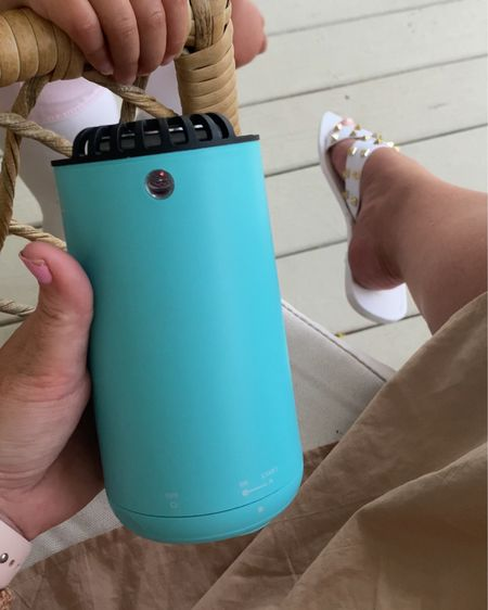 Adding this little device to the patio - a thermacell to keep bugs away this summer. 🙌🏻 It's a must have for life in Florida.  #liketkit @liketoknow.it http://liketk.it/3fGhD #LTKhome #LTKfamily #LTKtravel