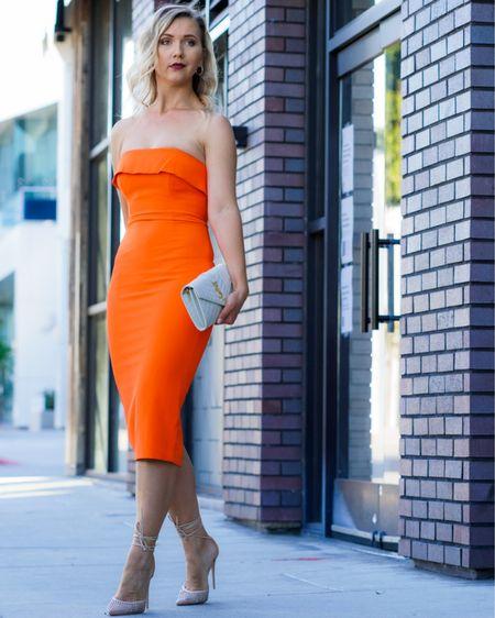 The color of this Summer 2021 🧡🧡🧡 http://liketk.it/39Kdy #liketkit @liketoknow.it #LTKunder50 #LTKstyletip #asos #asosdress #springfashion #springoutfit #springdress