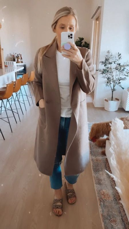 A lightweight wool jacket from the NSale! I'm wearing a small and it's slightly oversized which is perfect for thicker sweaters.   #LTKstyletip #LTKworkwear #LTKunder100