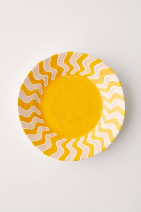 urban outfitters soleil rays plate  #LTKSeasonal #LTKhome