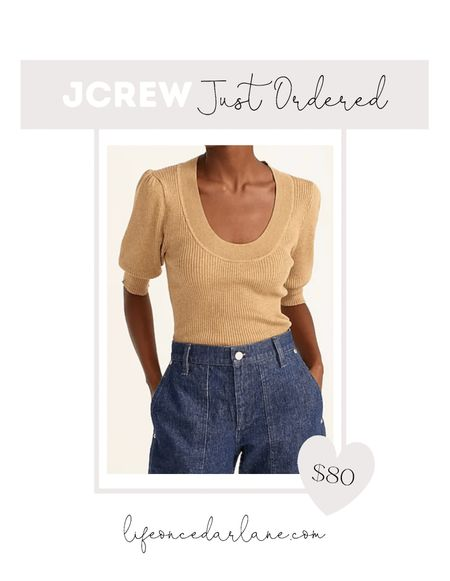 So many deals on fall fashion at jcrew!! Loving all the cozy sweaters and pretty earth tones!! This cute sweater is so perfect for early fall!!  #fallfashion #fallsweaters  #LTKSeasonal #LTKsalealert #LTKunder100