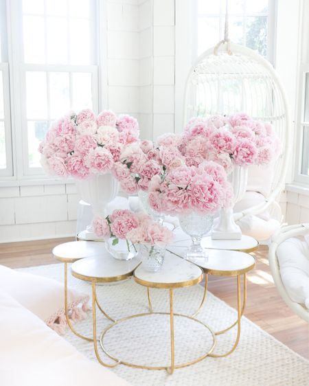 Yay!! My garden peonies bloomed! I love it when my house is filled with my favorite pink beauties! 🌸 http://liketk.it/3h3P3 #liketkit @liketoknow.it #LTKunder50 #LTKunder100 #LTKhome @liketoknow.it.home